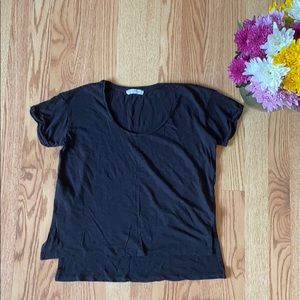 ❤️ Mango black t-shirt